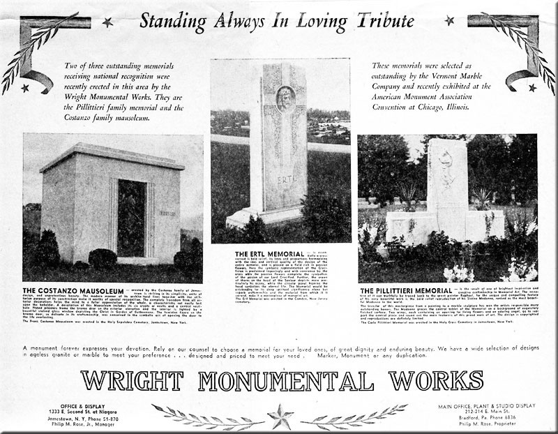 Wright Monumental Work...